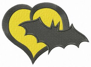 Batman's heart