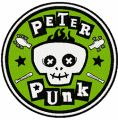 Peter Punk logo embroidery design