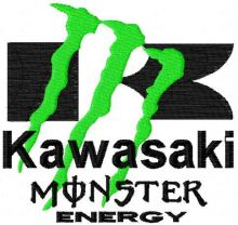 Kawasaki Monster Energy logo