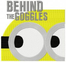 Minion: behind the goggles