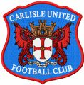 Carlisle United Football Club logo embroidery design