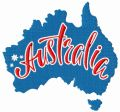 Australia embroidery design