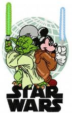 Star Wars Yoda vs Mickey