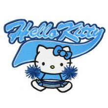 Hello Kitty Cheerleading