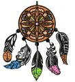 Dreamcatcher 8 embroidery design