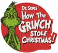 How the Grinch stole Christmas badge embroidery design