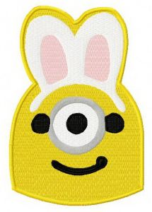 Minion with bunny ears