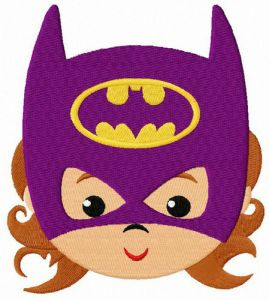 Baby Batwoman face