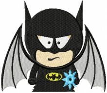 Batman south park style