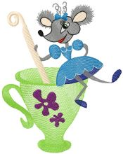 Mouse and tea pot