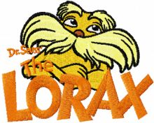 Lorax with Logo
