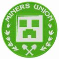 Miner's Union logo 2 embroidery design