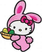 Hello Kitty Happy Easter 3