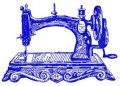 Old sewing machine 2 embroidery design