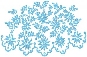 Blue decoration 1
