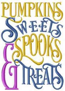 Pumpkins, sweets, spooks & treats