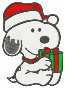 X-mas gift for Snoopy