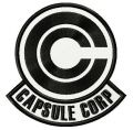 Capsule Corp logo embroidery design