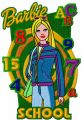 Barbie School Style embroidery design