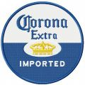 Corona Extra Imported embroidery design