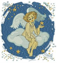Angel on cloud