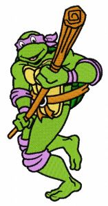 Donatello attacks