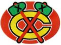 Chicago Blackhawks logo 2 embroidery design