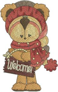 Teddy welcome
