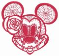 Halloween Minnie Mouse 2 embroidery design