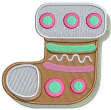 Gingerbread sock