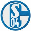 Schalke 04 FC embroidery design