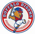 Buffalo Bisons logo embroidery design