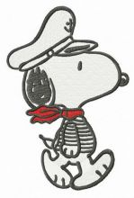 Snoopy the captain