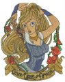 Once upon a dream 2 embroidery design