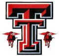 Texas Tech Red Raiders and Lady Raiders logo 2 embroidery design