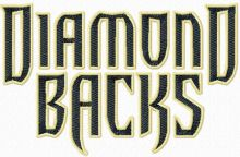 Arizona Diamondbacks script logo