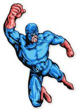 Superhero's attack