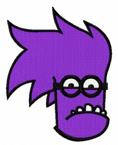 Purple Minion 8