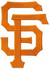 San Francisco Giants cap insignia