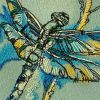Kitchen napkin with dragonfly design