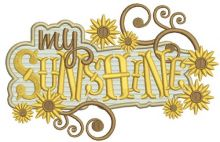 My sunshine signboard