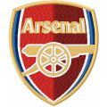 Arsenal Football Club logo embroidery design