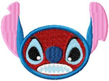 Stitch Smile Very Angry