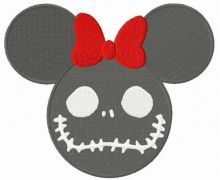 Minnie Mouse Halloween horror