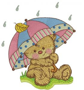 Teddy's rainy day