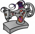 Sewing machine modern embroidery design