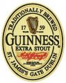 Guinness logo embroidery design