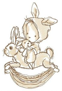Riding rabbit