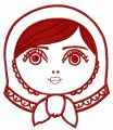 Matryoshka 3 embroidery design