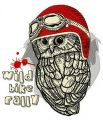 Wild bike rally 2 embroidery design